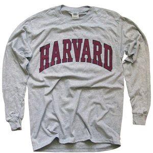 Long Sleeve Harvard T Shirt